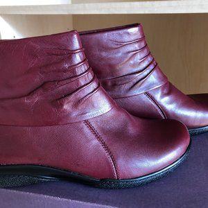 Clarks Kearns Awe Marron Leather